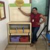 Professoras recebendo o Baú de Leitura – Projeto do DN –  04/02/19 – Foto 02
