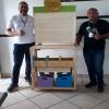 Professores recebendo o Baú de Leitura – Projeto do DN –  08/02/2019 – Foto 02