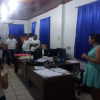Turmas da EJA em sala e realizando um Tur. Pedagógico para conhecerem a Unidade – 12/02/2019 – Foto 01