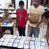 Turma de Alfabetização da EJA identificando as letras do seu nome – 12/02/19