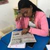 Professora Otávia trabalhando Leitura com turma de EJA noite – 13/02/19 – Foto 02