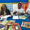 Professora Otávia trabalhando Leitura com turma de EJA noite – 13/02/19 – Foto 08