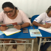 Professora Otávia trabalhando Leitura com turma de EJA noite – 13/02/19 – Foto 10
