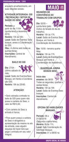 PROGRAMAÇÃO GSI 2019 – Folha 04