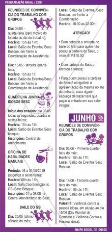 PROGRAMAÇÃO GSI 2019 – Folha 05