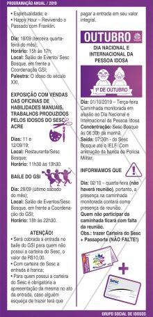 PROGRAMAÇÃO GSI 2019 – Folha 08