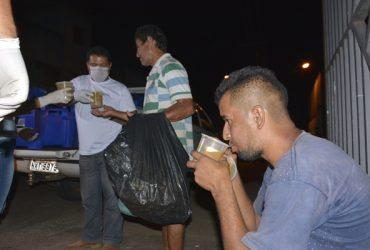 FecomércioAC e Governo Parceiros distribuindo Sopa (3)